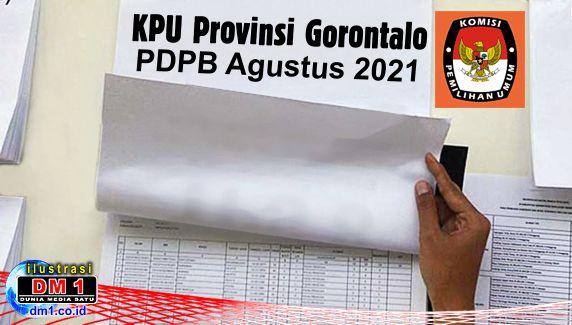 KPU Provinsi Gorontalo: Agustus 2021 Jumlah Pemilih Mencapai 831.918 Jiwa
