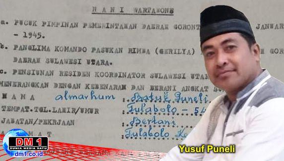 """Ada """"Pahlawan"""" Gorontalo Asal Tulabolo, Kades Yusuf Puneli: Mari Lanjutkan Perjuangan Mereka"""