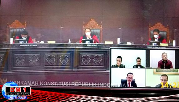 Uji Materi UU Pers: Presiden, DPR  dan DP Dipastikan Hadir Beri Keterangan di MK
