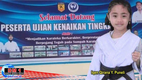 Iqen Qirana Yusuf Puneli, Pelatih & Penguji Termuda Karate Wadokai di Gorontalo