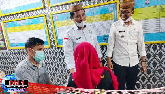 Ada Doorprize Vaksinasi di Desa Molamahu, Ini Nama-nama Pemenangnya